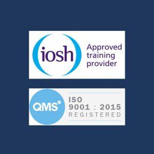 IOSH Logo QMS Logo